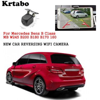 Car wireless rear cam For Mercedes Benz B Class MB W245 B200 B180 B170 B160 reversing HD CCD night vision waterproof high qualit