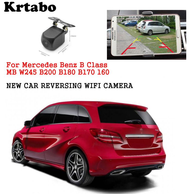 Car wireless rear cam For <font><b>Mercedes</b></font> Benz B Class MB <font><b>W245</b></font> B200 B180 <font><b>B170</b></font> B160 reversing HD CCD night vision waterproof high qualit image
