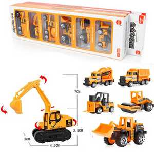 HARKO 6PCS/Set Baby Boys Girls Car Children Excavator Toy