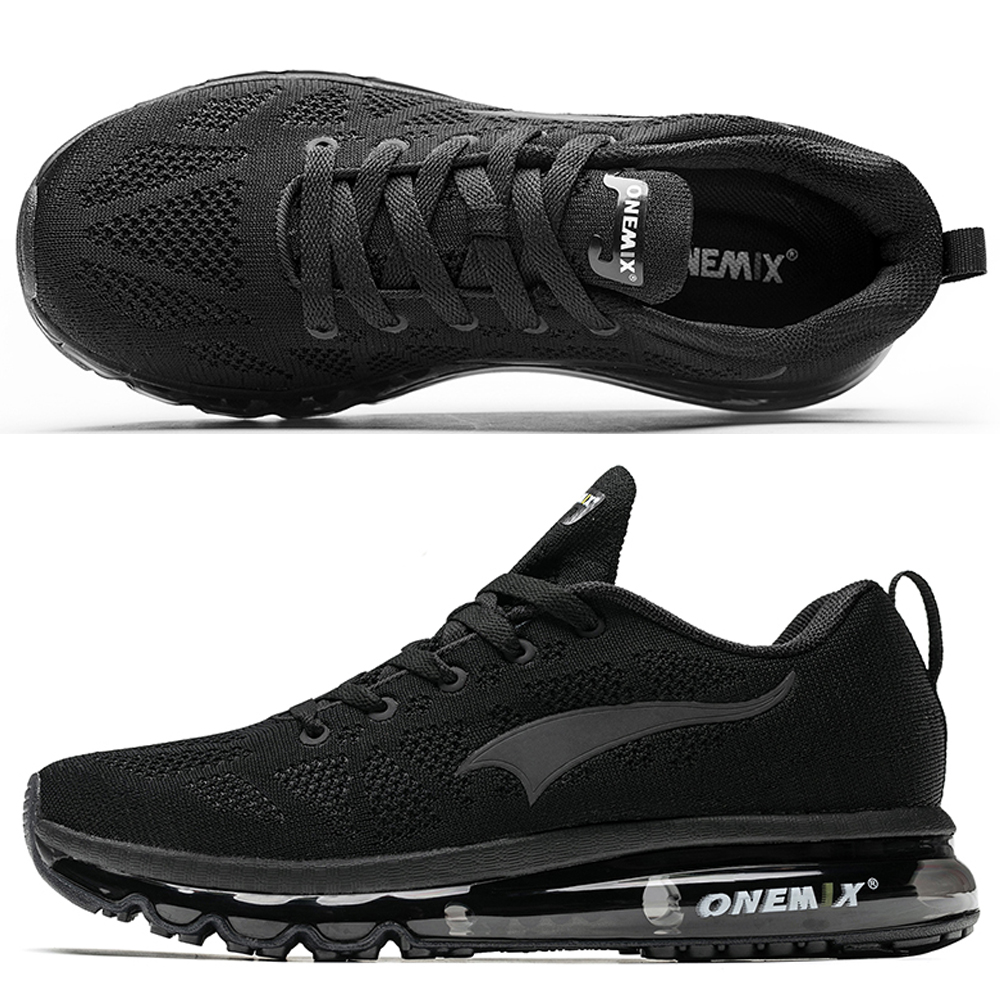 Image 3 - ONEMIX Men Running Shoes Women Air Knit Sneakers Light Outdoor Sport Shoes Air Cushion Althletic Shoes 2019 Newest-in Running Shoes from Sports & Entertainment on AliExpress
