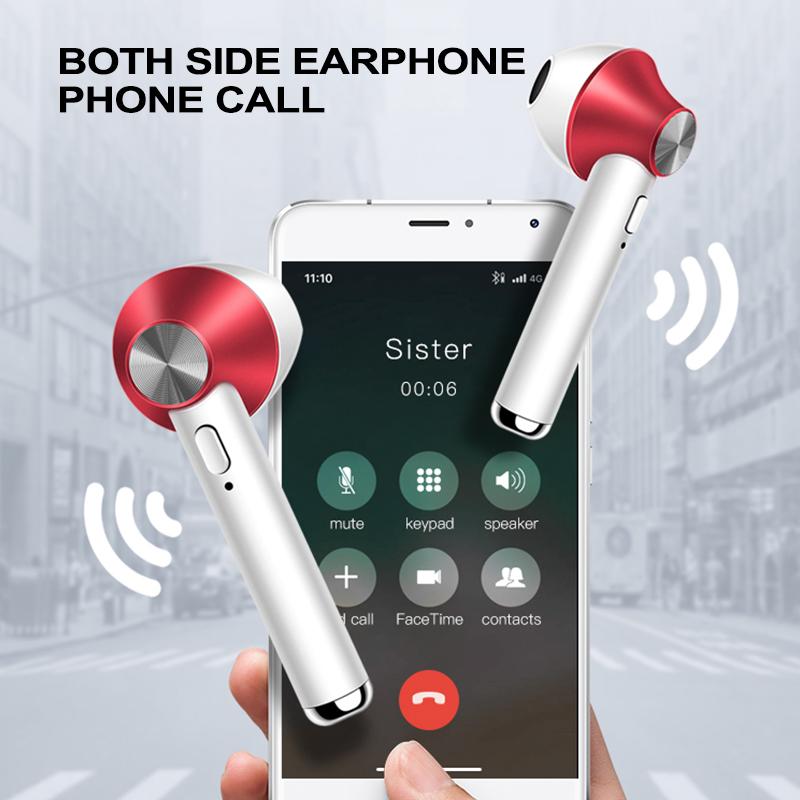 Bluetooth Earphone 5.0 Stereo bluetooth Earphone Wireless Stereo Dynamic Earbuds Handsfree Sport Earphone With Charging Box
