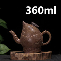 Chinese Porcelain Teapots Yixing Zisha Teapot Gongfu Tea Set 360ml New Arrived High Quality With Gift Box Safe Packaging