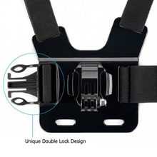 Chest Head Belt Mount For Gopro Hero 5 4 accessories Set