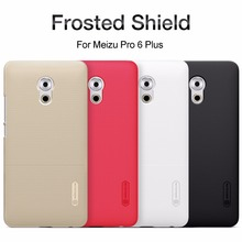 Pro 6 Plus Nillkin Super Frosted Shield Case Back Cover Meizu PRO 5 Pro 6 Plus Hard Cases + Screen Protector