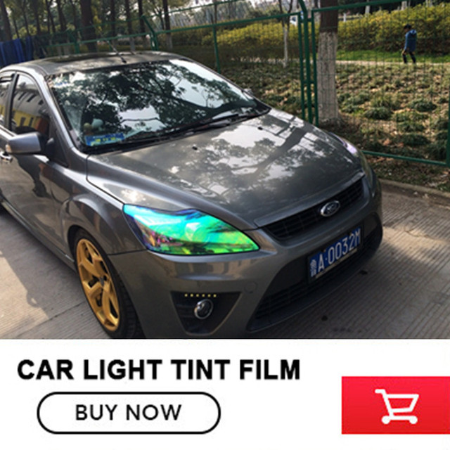 30cmx9m Glossy Frosted Car Front Light Headlight Taillight Tint Smoke  Reflective Car Styling PVC Film Sticker