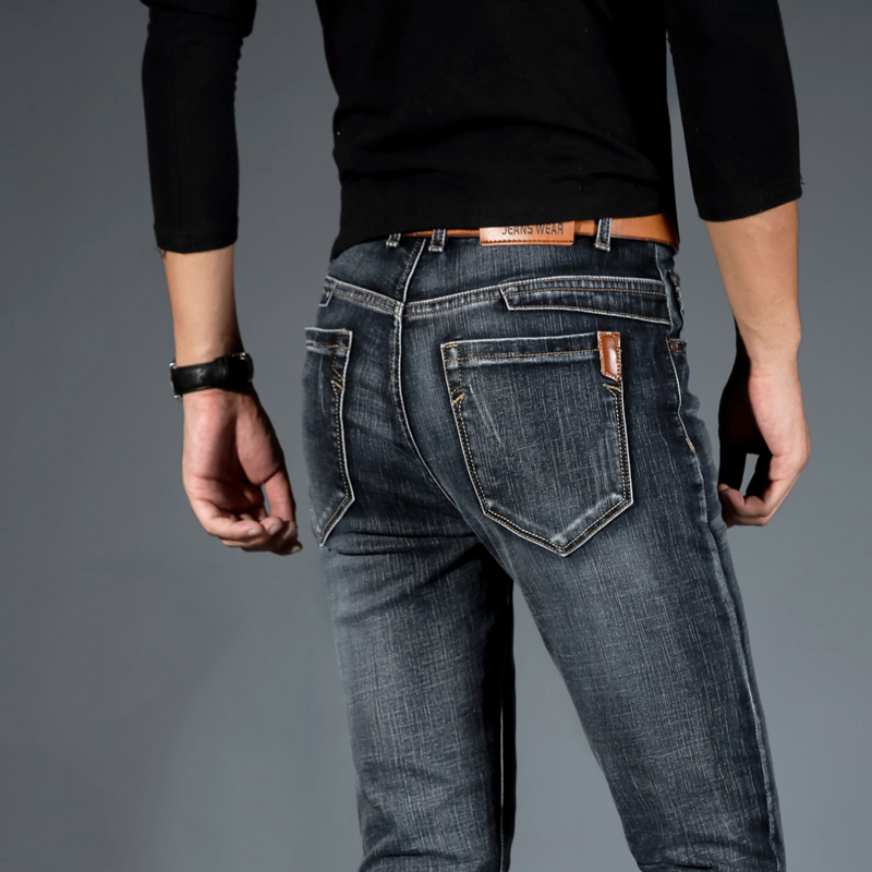 Mens Jeans Jean Homme Jogger Biker Masculina Slim Pants Pantalon Vaquero Hombre Hip Hop Baggy Casual Harem Distressed Designer