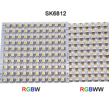 100pcs Built-in 5050 SMD RGB SK6812 IC DC5V SK6812 LED Board Heatsink RGBW/RGBWW LED chips (10mm*3mm) sk6812 ring ws2812b ring full color rgbw small circle 5v built in point control circular ring lamp board