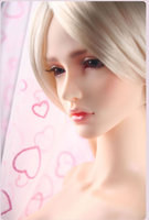 Free face makeup and eyes ! 1/3 bjd doll gem dia ver. A B white black s oom sd big sexy female best gift top quality resin girl