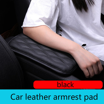 Car Door Armrest Leather Driver Arm Protective Pad Mat For BMW E46 E39 E90 E60 E36 F30 F10 E34 X5 E53 E30 F20 E92 M3 M4 M5 X5 X6 image
