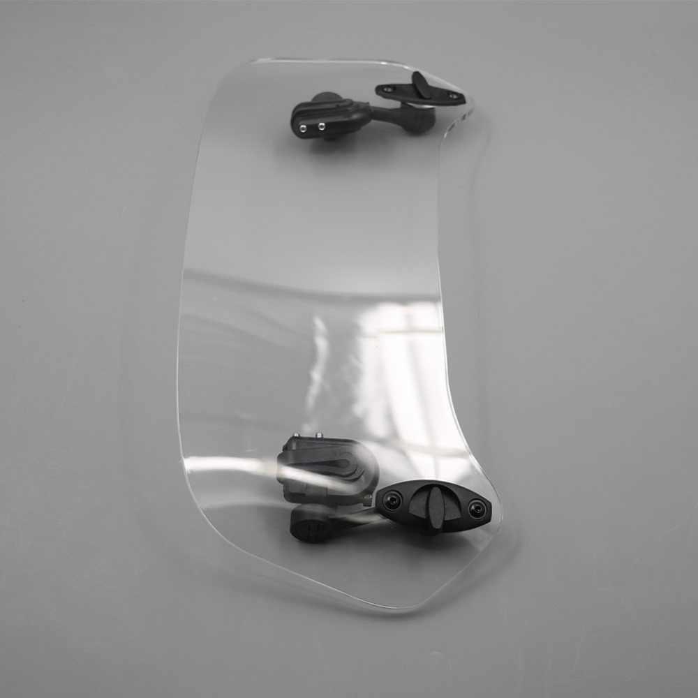 勝利のためアプリリア、 Ktm 勝利すべてフロントガラスモデルオートバイユニバーサル気流調整可能なボルトオン可変スポイラーウインドスクリーン