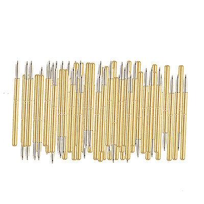 P100 B Spear Tip Spring Testing Probes Pin Gold Tone Free shipping