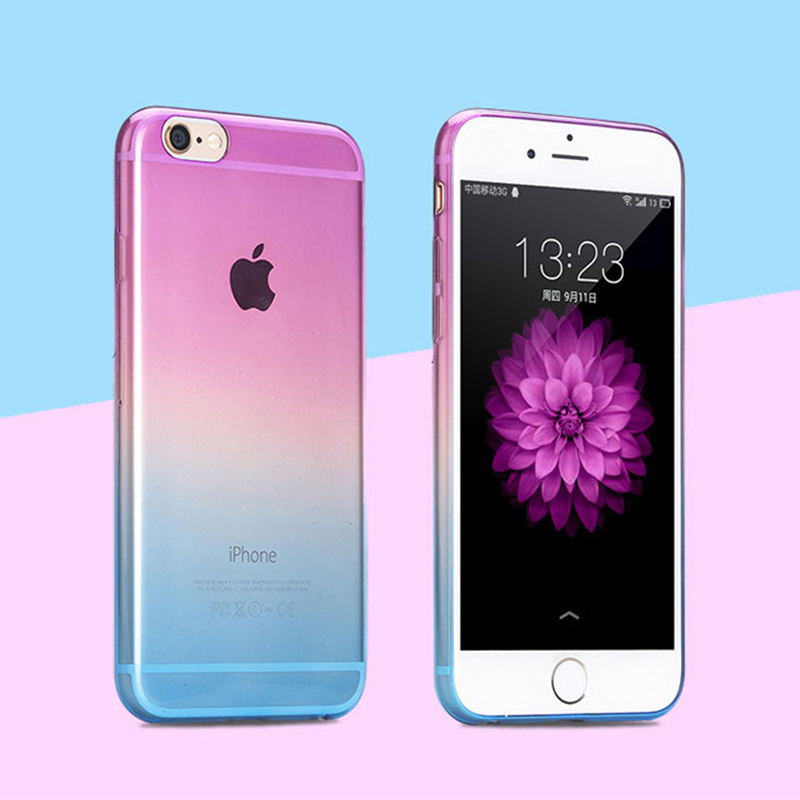 Cover For iphone 4 5 6 G S 4s 5s 5C 6s plus 7 7Plus SE 6plus phone Case Back Shell TPU Soft Silicon Ultra thin Slim Transparent