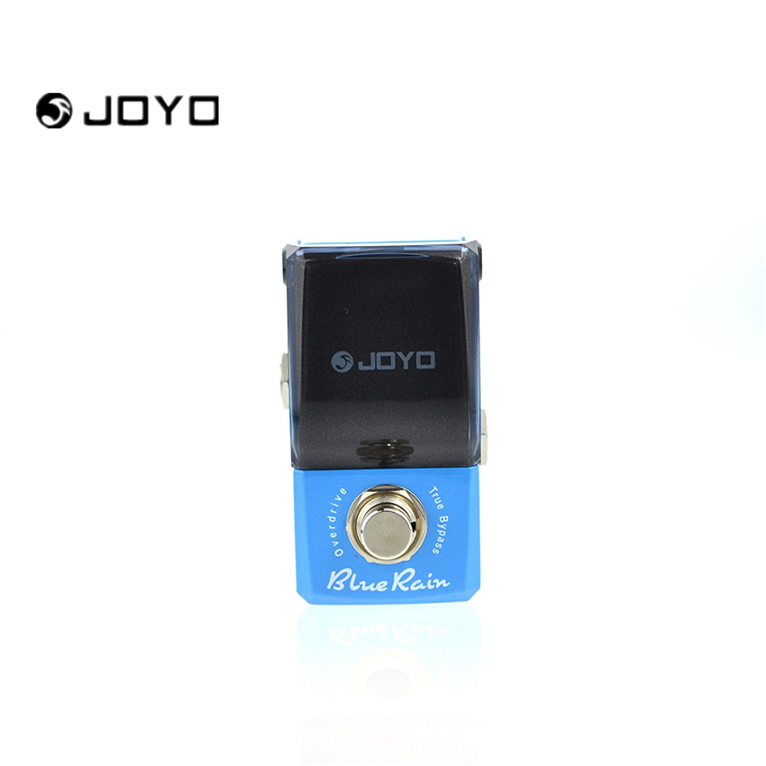 JOYO JF-311 Blue Rain New Product Mini guitar Effect Pedal warm and comfy overdrive best for solo ture bypass