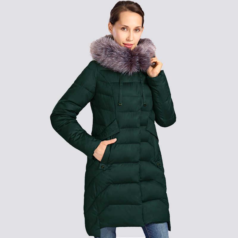 2019 nouvelle veste d'hiver femmes grande taille col de fourrure longue femmes manteau d'hiver épais de haute qualité chaud vers le bas vestes vêtement d'extérieur parka