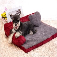 All Season Breathable Waterproof Cotton Pet Lazy Sofa Full Disassembly Washable Small Medium Large Cats Dogs