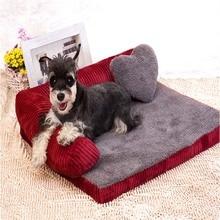 minden évszak lélegző vízálló pamut háziállat lusta kanapé teljes szétszerelés mosható kis közepes nagy macskák kutya kennel