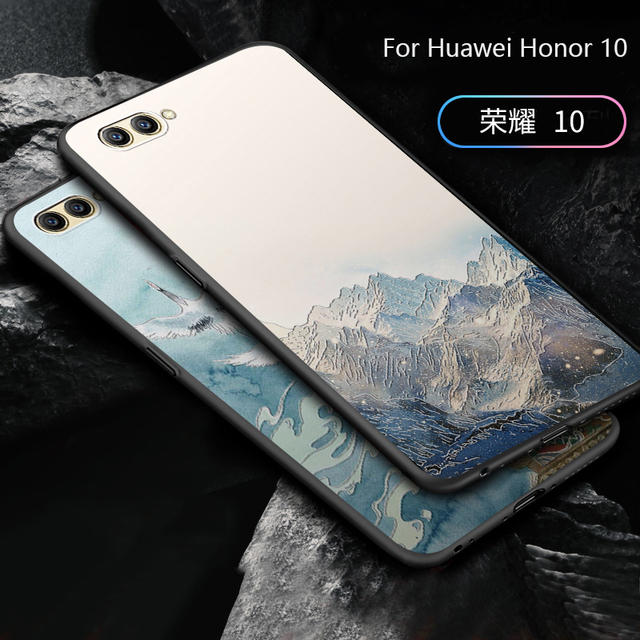 free shipping 20f66 fd0cb US $6.98 |2018 New Fashion For Huawei Honor 10 case, Unique and 3D cartoon  custom made painted back cover case for huawei Honor10-in Fitted Cases from  ...