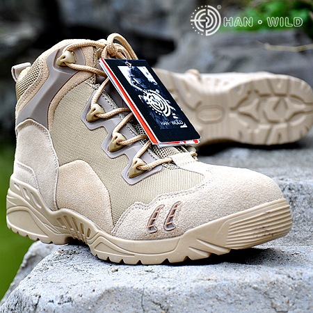 Men Military Tactical Boots For Men s Outdoor Hunting Desert Black Motorcycle Army Combat Leather Shoes