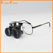38cf5a9a7e 2.5X3.5X420mm Loupe dentaire Loupes chirurgicales médicales jumelles  Galileo Loupes optiques Loupe lunettes(