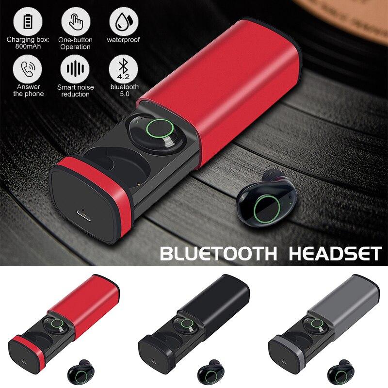 2019X23 Bluetooth 5.0 + ERD écouteurs mains libres HiFi stéréo son écouteurs avec micro pour Xiaomi/Samsung/Huawei