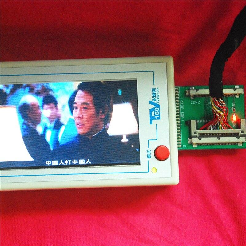 TKDMR Új TV160 Full HD LVDS Forgassa el a VGA (LED / LCD) TV alaplap - Mérőműszerek - Fénykép 5