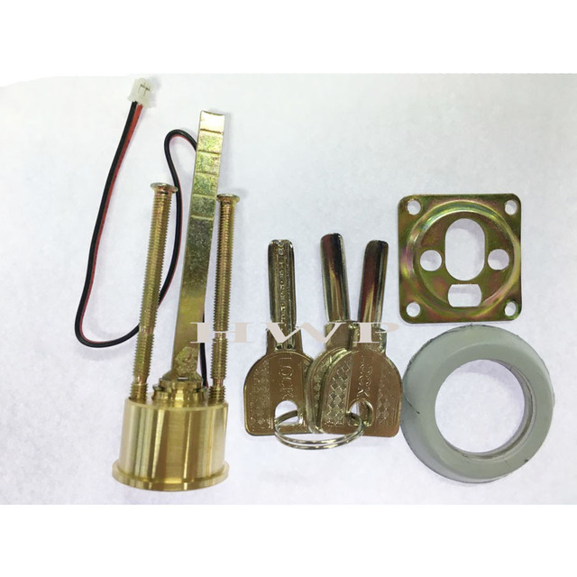 Iron Gear Wheel Mute Electric Lock  Access cotnrol electric lock double key head