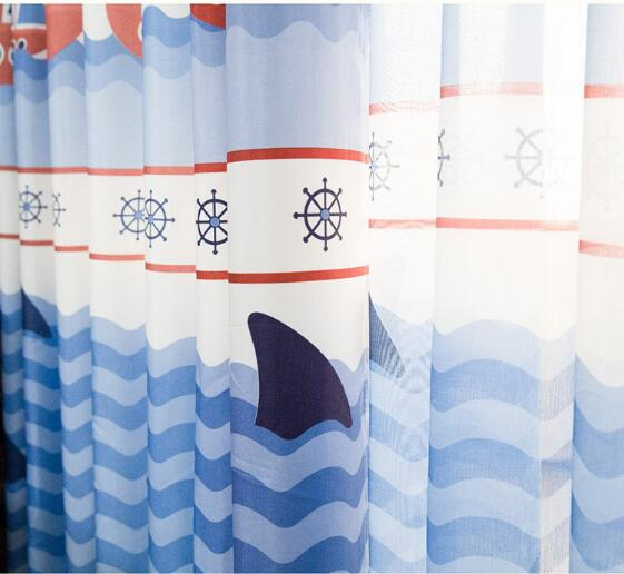 Online Buy Wholesale blue patterned curtains from China blue ...