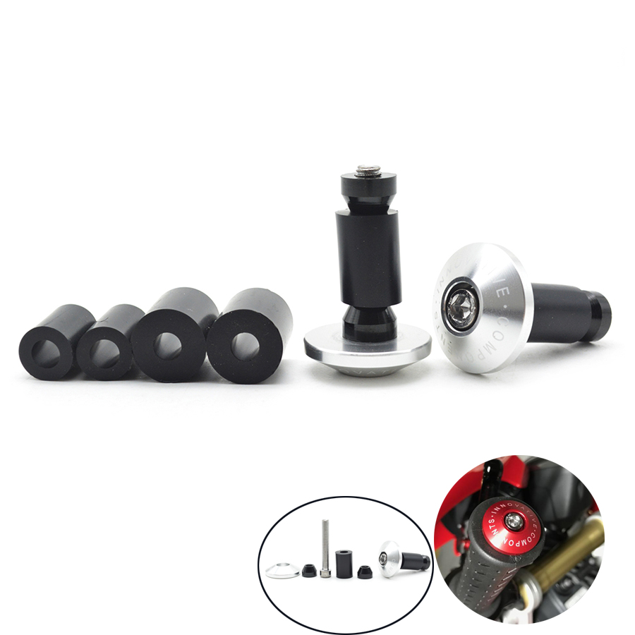 Universal 22mm  7/8 Motorcycle CNC Aluminum Handlebar Grips Bar Ends Sliders For suzuki mt 09 grips yamaha fz1 kawasaki z1000 for 22mm 7 8 handlebar motorcycle dirt bike universal stunt clutch lever assembly cnc aluminum