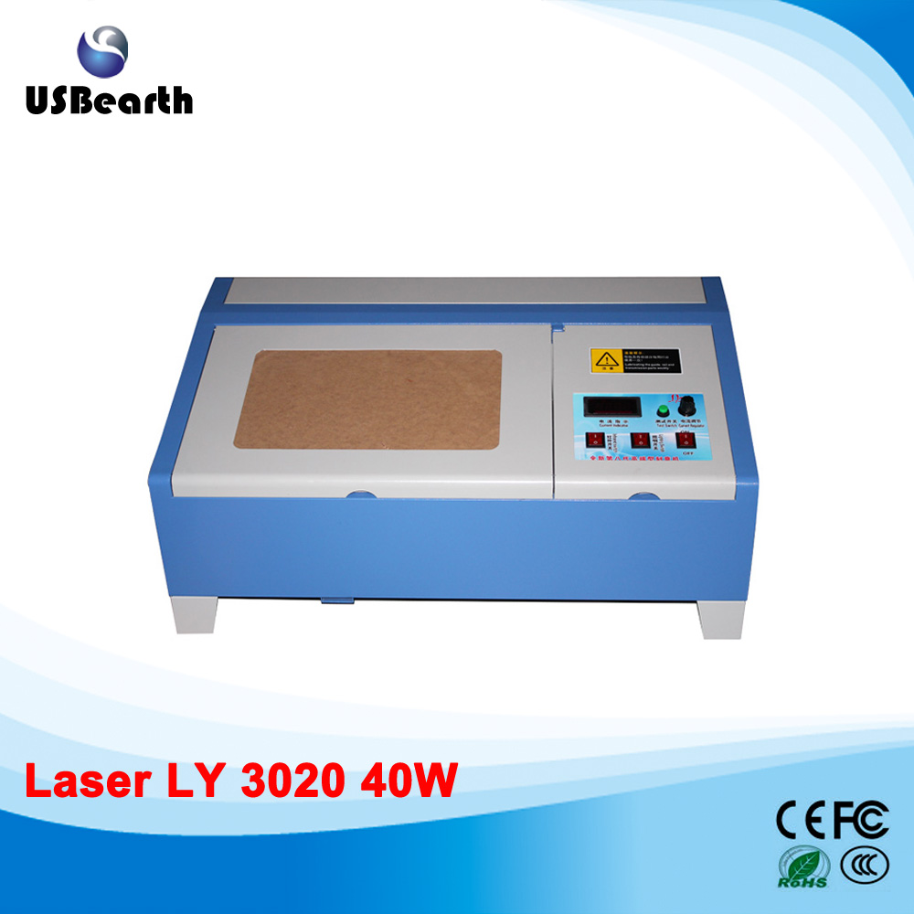 LY 3020 CO2 Laser Engraving Machine, Laser Cutting Machine With USB Connection & Infrared Positioning, free tax to Russia ly 3020 co2 laser engraving machine laser cutting machine with usb connection