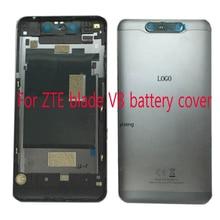 """5.2 """"עבור ZTE להב V8 V 8 BV0800 סוללה כיסוי דלת אחורית שיכון מקרה עם מצלמה זכוכית יש כוח צד כפתור"""