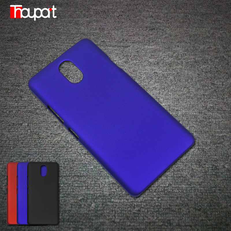 For Lenovo P1m 5 0 Case font b Phone b font Bags Frosted Good touch feel