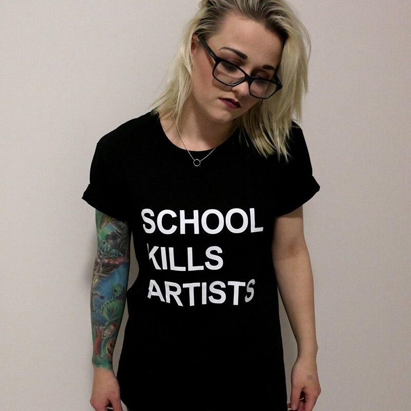 Be An Artist T-Shirt Cool Funny Slogan Tee