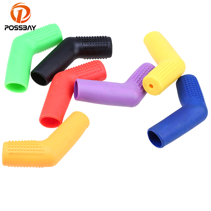POSSBAY Motorcycle Gear Shift Lever Rubber Shifter Boot Shift Case Protectors Covers For Honda Suzuki Yamaha Gear Shoe Protector