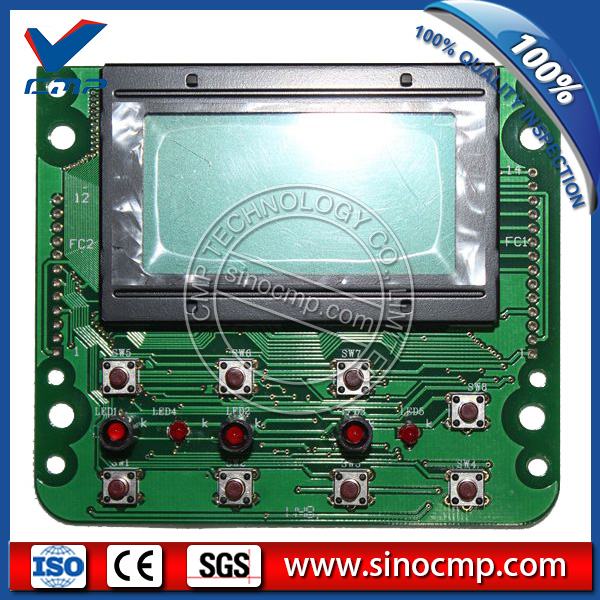 SK200-6 SK200-6E SK-6 SK-6E Kobelco Excavator Monitor LCD Panel, display screen e320c 320c excavator monitor connector wire 157 3198 260 2160