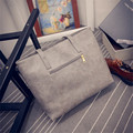 Fashion Women Leather Handbag Brief Shoulder Bags Large Capacity Luxury Handbags Women Shoulder Bags Free Shipping