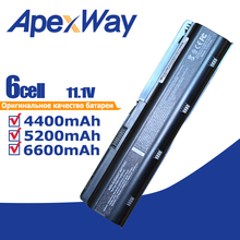 11,1 V ноутбук Батарея g6 dv6 mu06 для hp павильон 593553-001 аккумулятор большой емкости nbp6a174b1 586007-541 586028-341 588178-141593554-001 586006-321