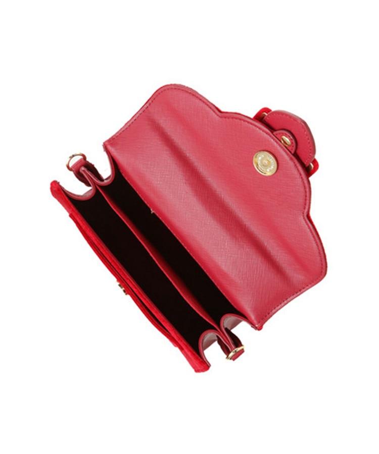 17 Christmas limited velvet suede handbag Samantha Vega plush handle organ shoulder bag Retro small flap square Messenger bag 10