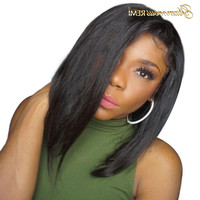 Brazilian Bob Wigs Straight Short lace front human hair wigs Glueless Natural color with Baby Hair For Women Virgin Hair wigs