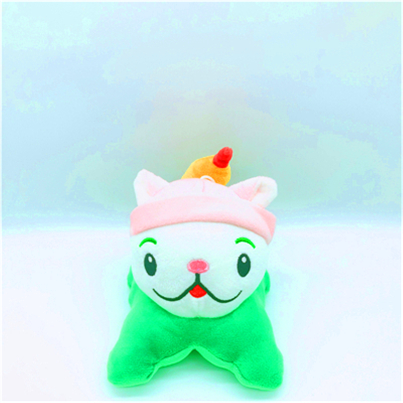 15cm New Nice Plants Vs Zombies Soft Plush Pp Cotton Cattail Toys For Baby Kids Gifts