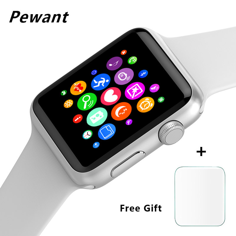 New Wireless Charging Smart Watch Heart Rate Monitor With Wifi Bluetooth For Android Xiaomi IOS Apple Watch Smartwatch For Women шашлычницы maxwell шашлычница maxwell mw 1990 st