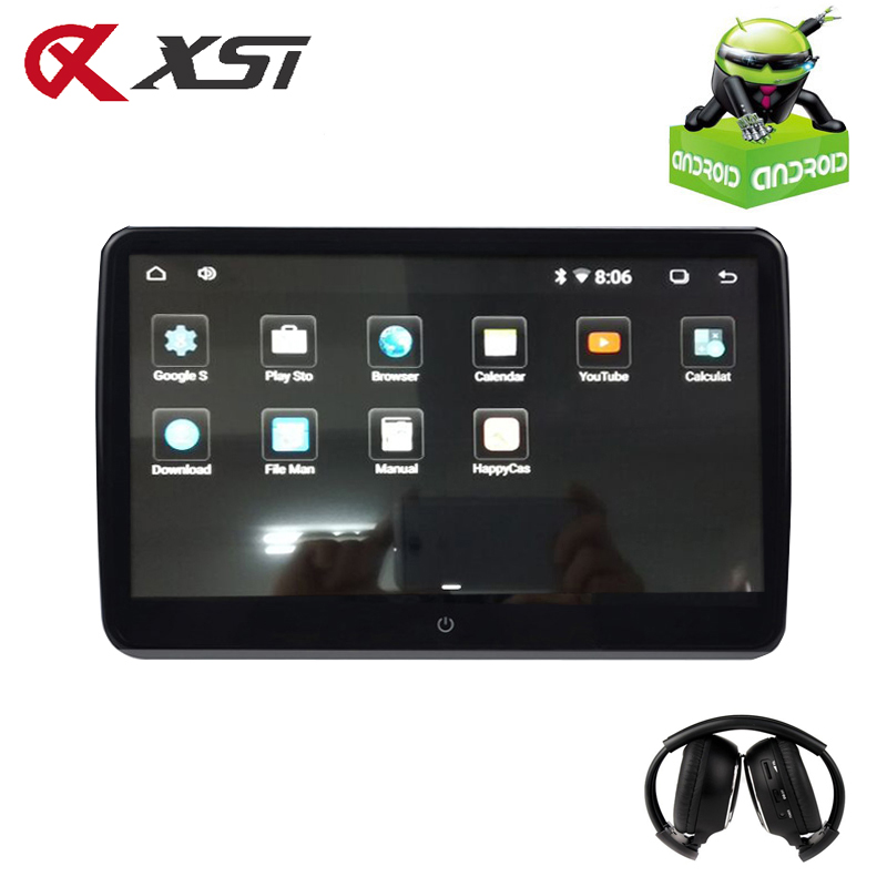 XST 10,6-palčni zaslon za glavo z avtomobilom Android 6.0 1920 * 1080 HD 1080P Video IPS zaslon na dotik 3G WIFI USB / SD / HDMI / IR / FM / Bluetooth