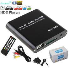 Мини full hd 1080p usb внешний hdd плеер с sd mmc u диск Поддержка