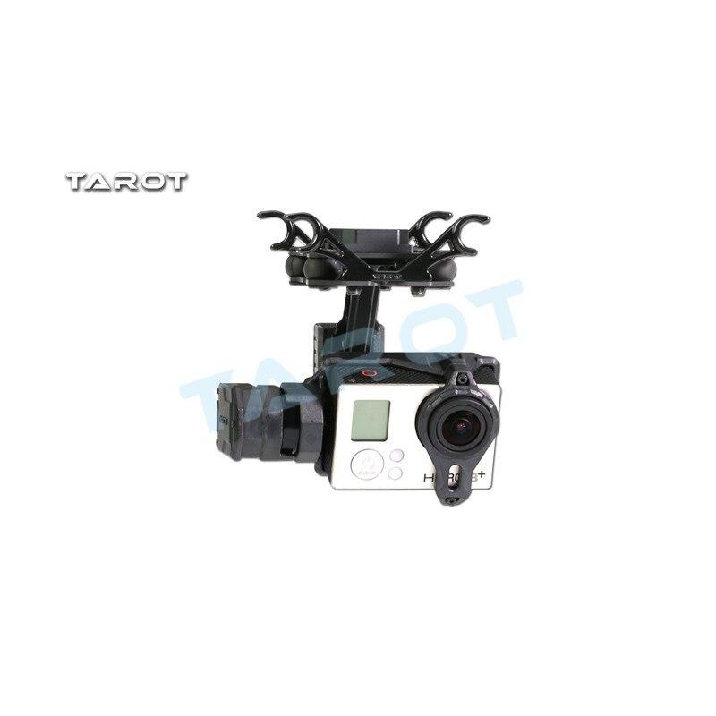 Tarot T2-2D 2 axes sans balais cardan pour Hero 4/3 +/3 TL2D01 FPV cardan Braket Multicopter