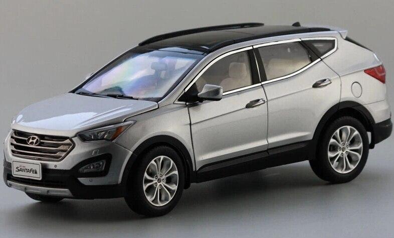 Alloy 1:18 Limited edition Hyundai New SENTAFE SUV car models-in ...