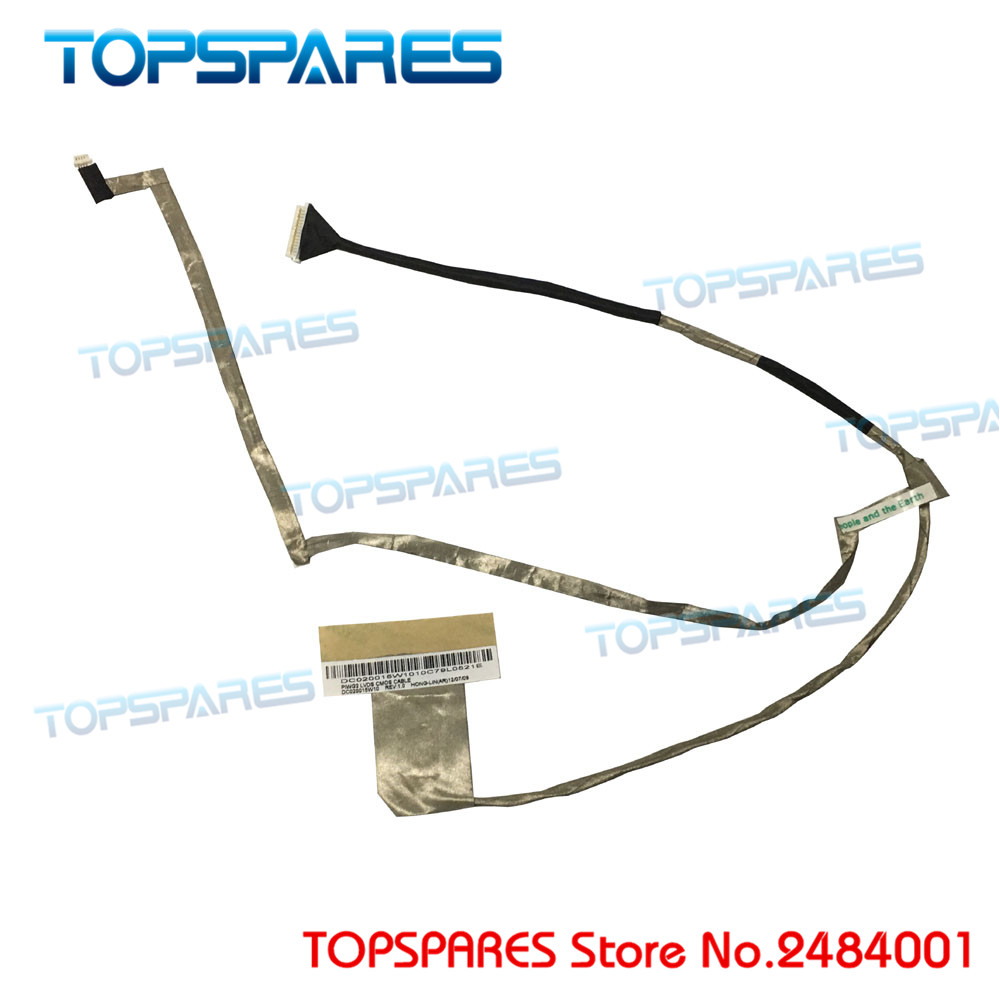 for lenovo G570 G570A G575 series laptop screen video flex cable DC020015W10