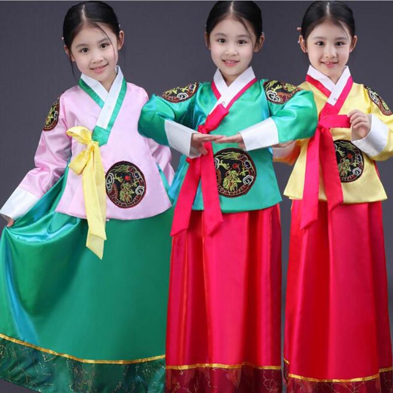 Online Shop New South Korean Girls Traditional Court Hanbok Costumes
