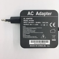 65 w 19 V 3.42A Plugue DA UE Adaptador AC Carregador de Bateria Para Asus X751m X750LN-TY012H TP500L TP550L Q552 X552E X551 x550C EXA1208EH
