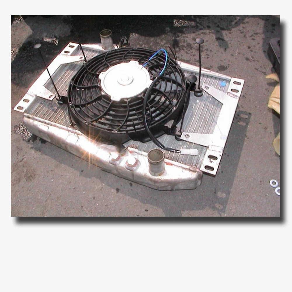 Auto Elektrische Heizkörper Kühlung Kühler Fan Montieren Fitting Kit Neue Universal Slim Line für Ford Mopar SBC BBC 350 Fan montage Kits