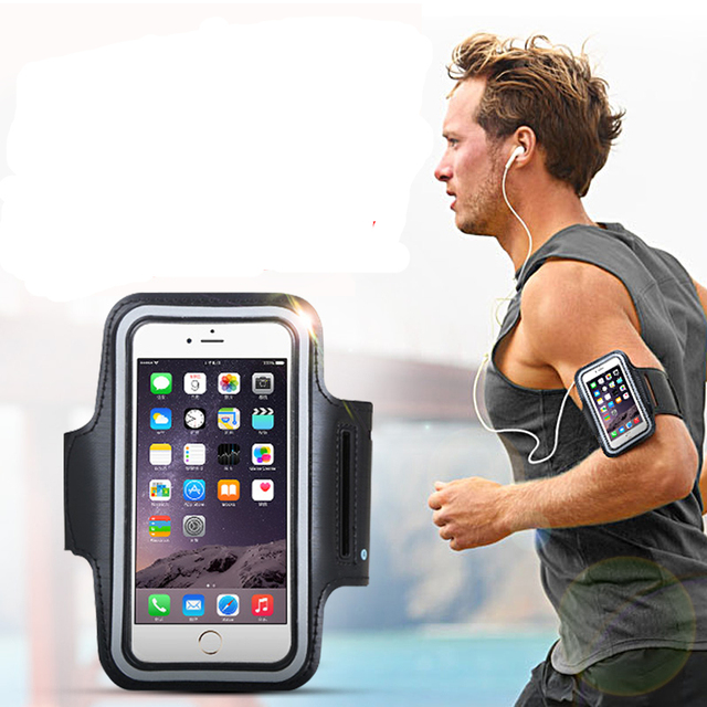 iphone holder for running aliexpress buy sport outdoor running armband cases 7949