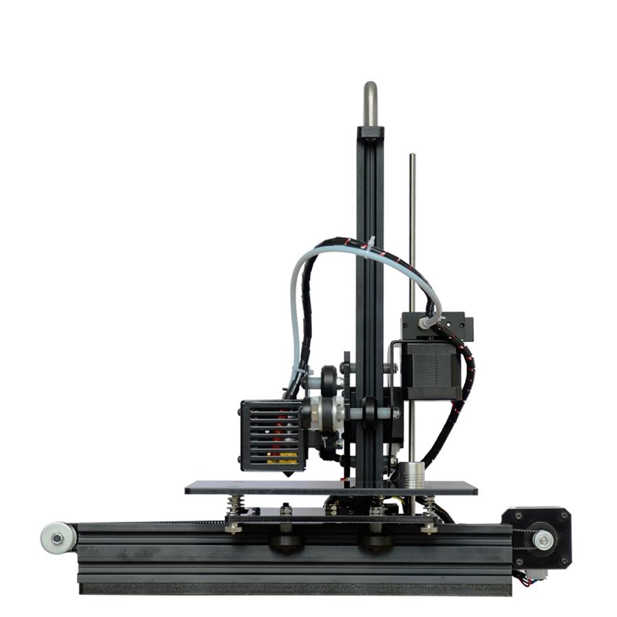 Tronxy L'éducation 3d Imprimante BRICOLAGE kit Haute Précision de bureau en aluminium profil 3d Imprimante X1 - 6